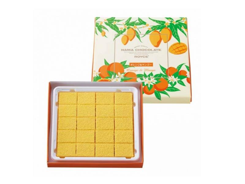 ロイズの生チョコオレンジ&マンゴー