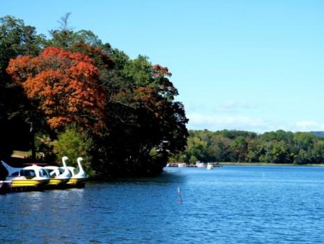 初秋の阿寒湖