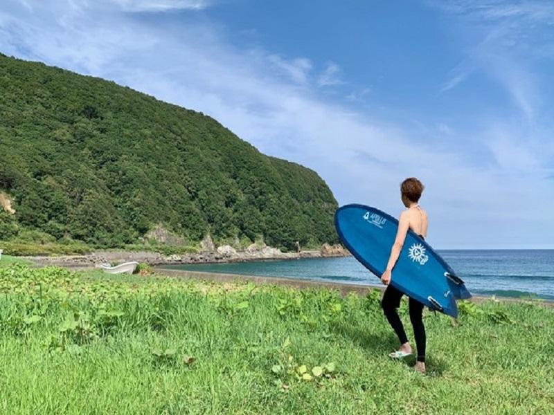函館 サーフィン