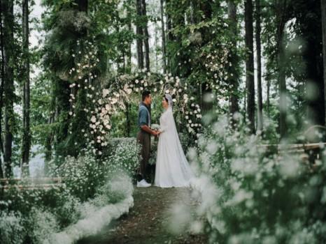大自然の中での結婚式イメージ