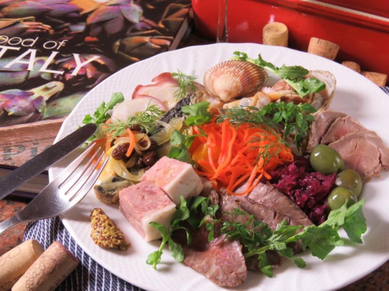 道産ブランド肉と旬菜鮮魚の贅沢オードブル