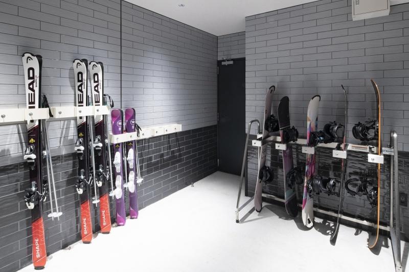 スキーラック室