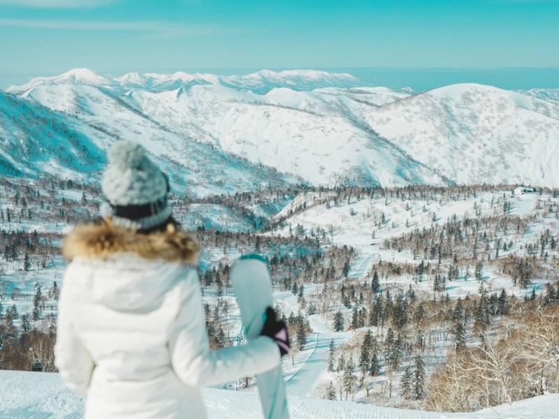 キロロリゾート雪景色
