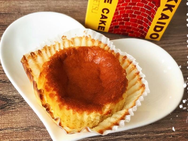 赤いサイロのケーキ