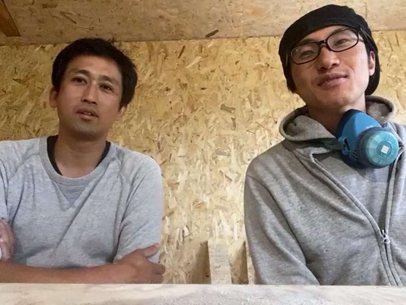 ARAMAKIの村上さん(写真左)、鹿川さん(右)