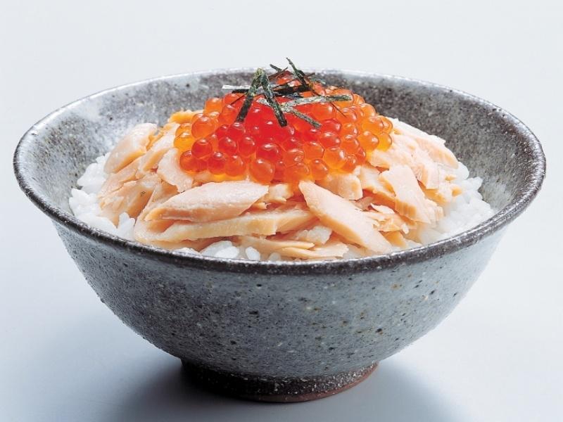 鮭・いくら丼