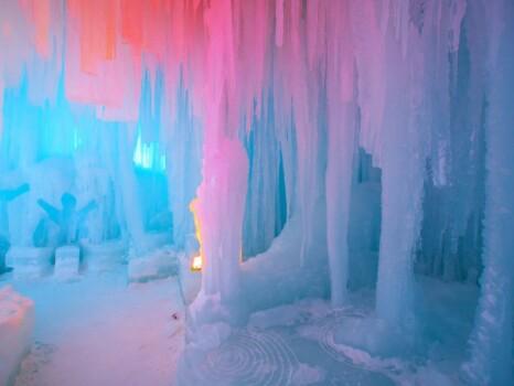 氷瀑まつり