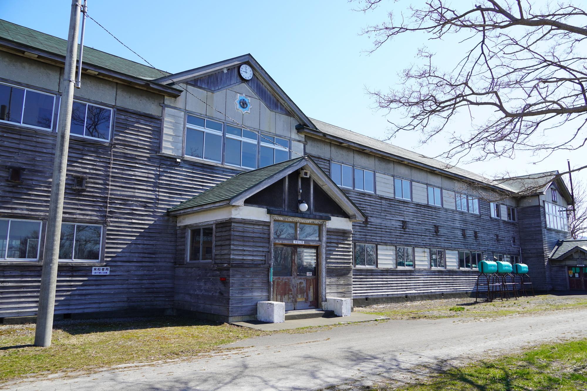 増毛小学校旧校舎