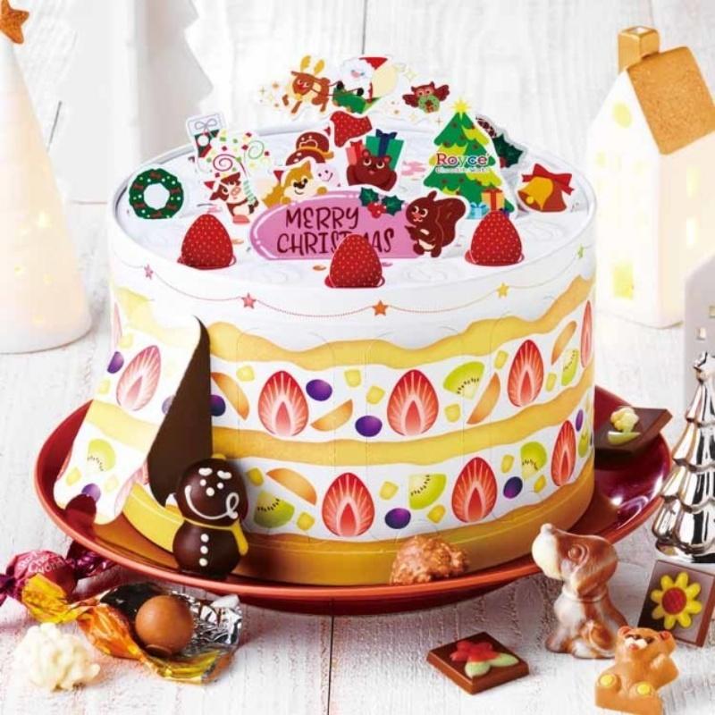 ロイズ チョコレートワールドケーキボックス