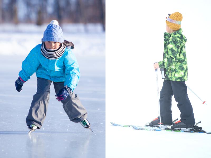 スキー、スケート