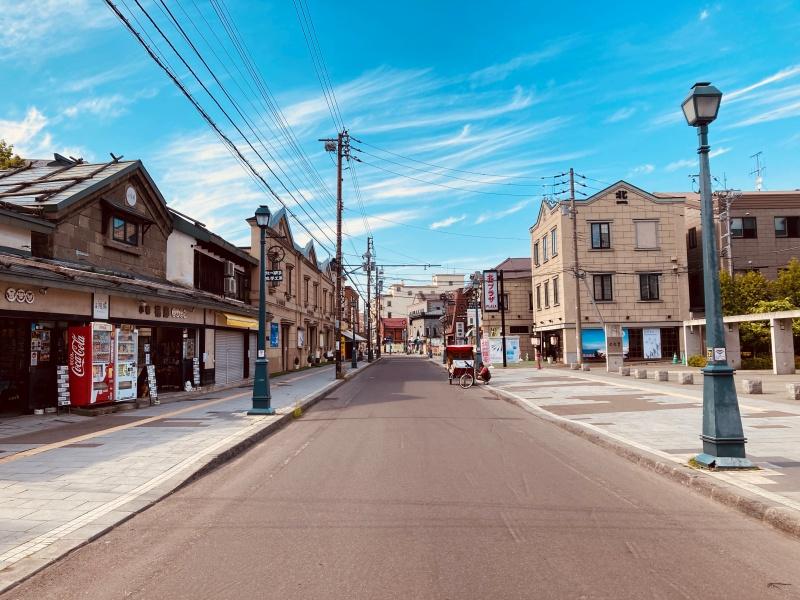 小樽堺町通り商店街の景観