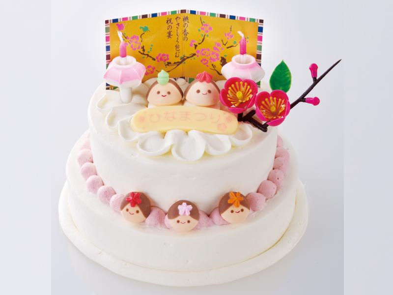 おうちでデコっちゃおう!ひなまつりケーキ