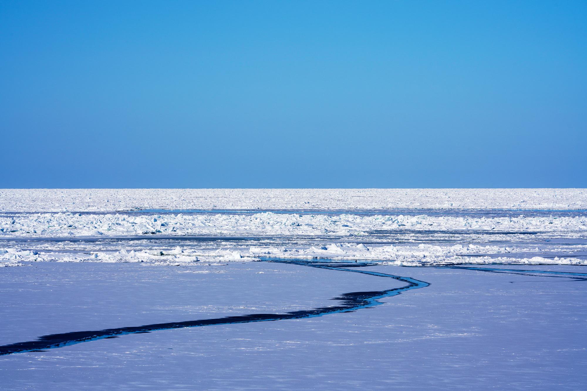 北見 オホーツクの流氷
