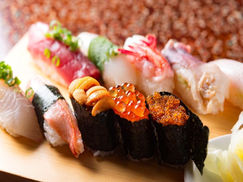 日本の美味しい鮨
