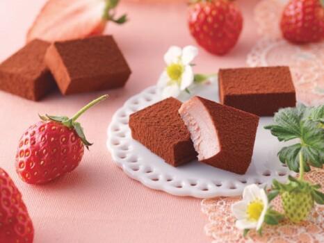 生チョコレート(いちご)