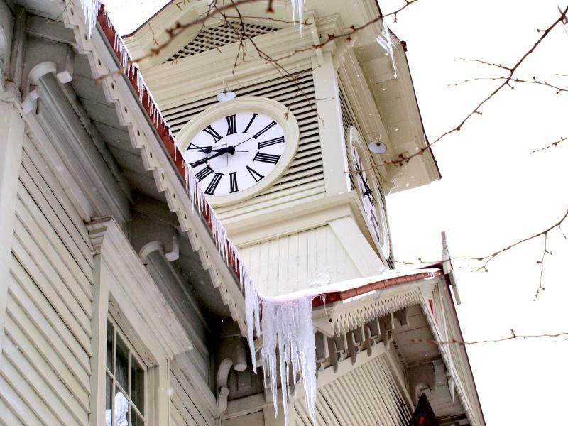 冬の時計台