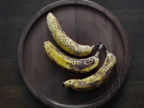 腐りかけたバナナ