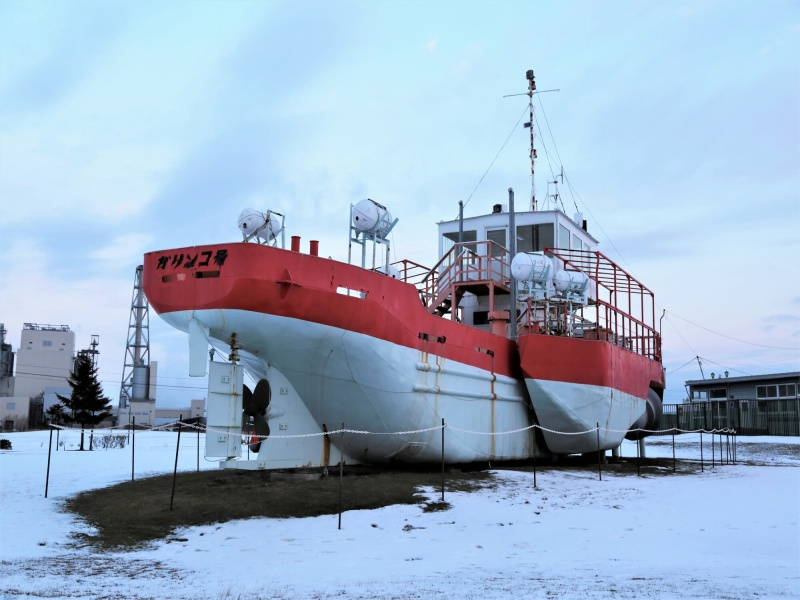 初代砕氷観光船「ガリンコ号」(北海道紋別市)