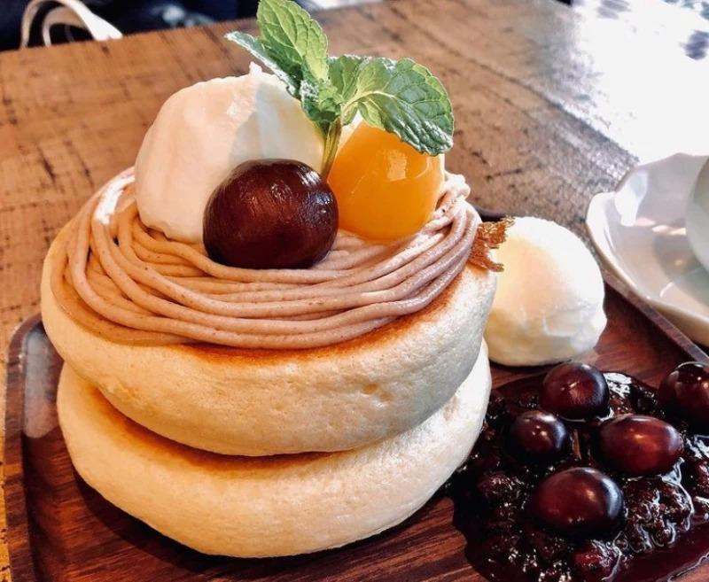 椿サロン パンケーキ