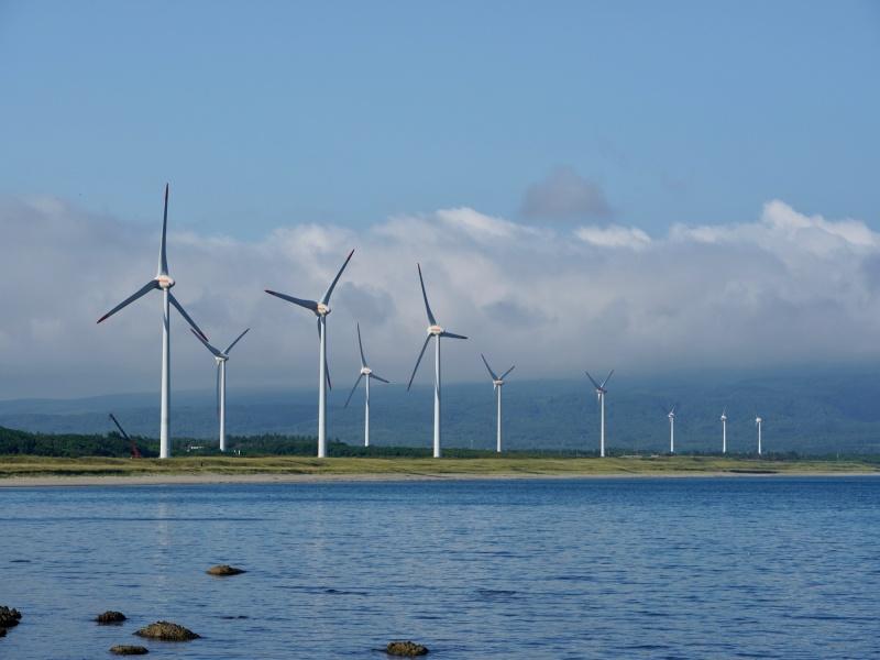 風太風力発電所と寿の都風力発電所