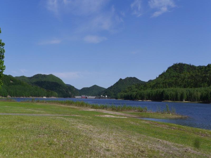 おけと湖 鹿ノ子ダム ダム湖