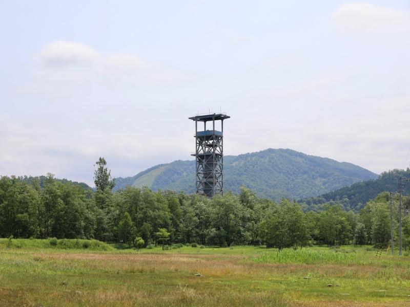 旧三井砂川炭鉱中央立坑櫓