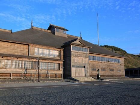 旧花田家番屋(北海道小平町)