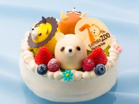 円山ZOO 70thアニバーサリーケーキ