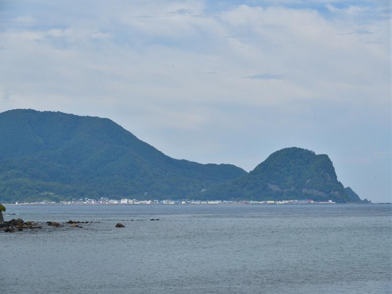 北海道古平町で丸山岬の風景を撮影
