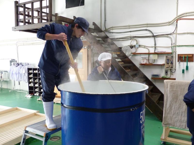 旭農高日本酒プロジェクト 酒造り