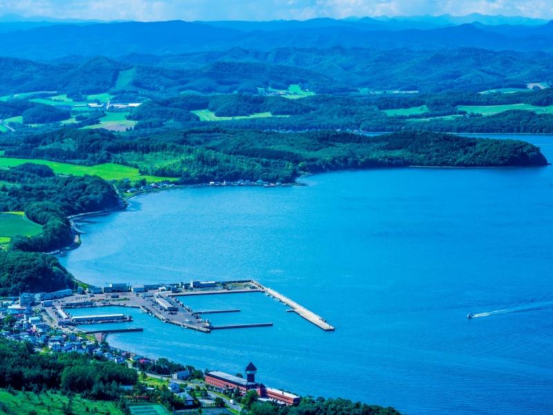 サロマ湖展望台からの眺望 (佐呂間町)
