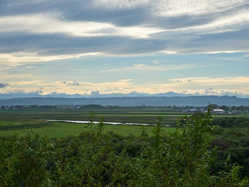 北海道 十勝太遺跡展望台からの景色