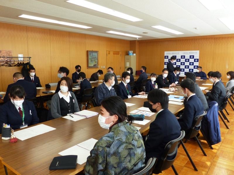 旭農高 日本酒プロジェクト会議