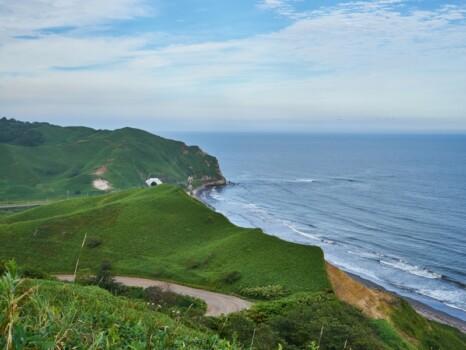 北海道 昆布刈石展望台からの景色