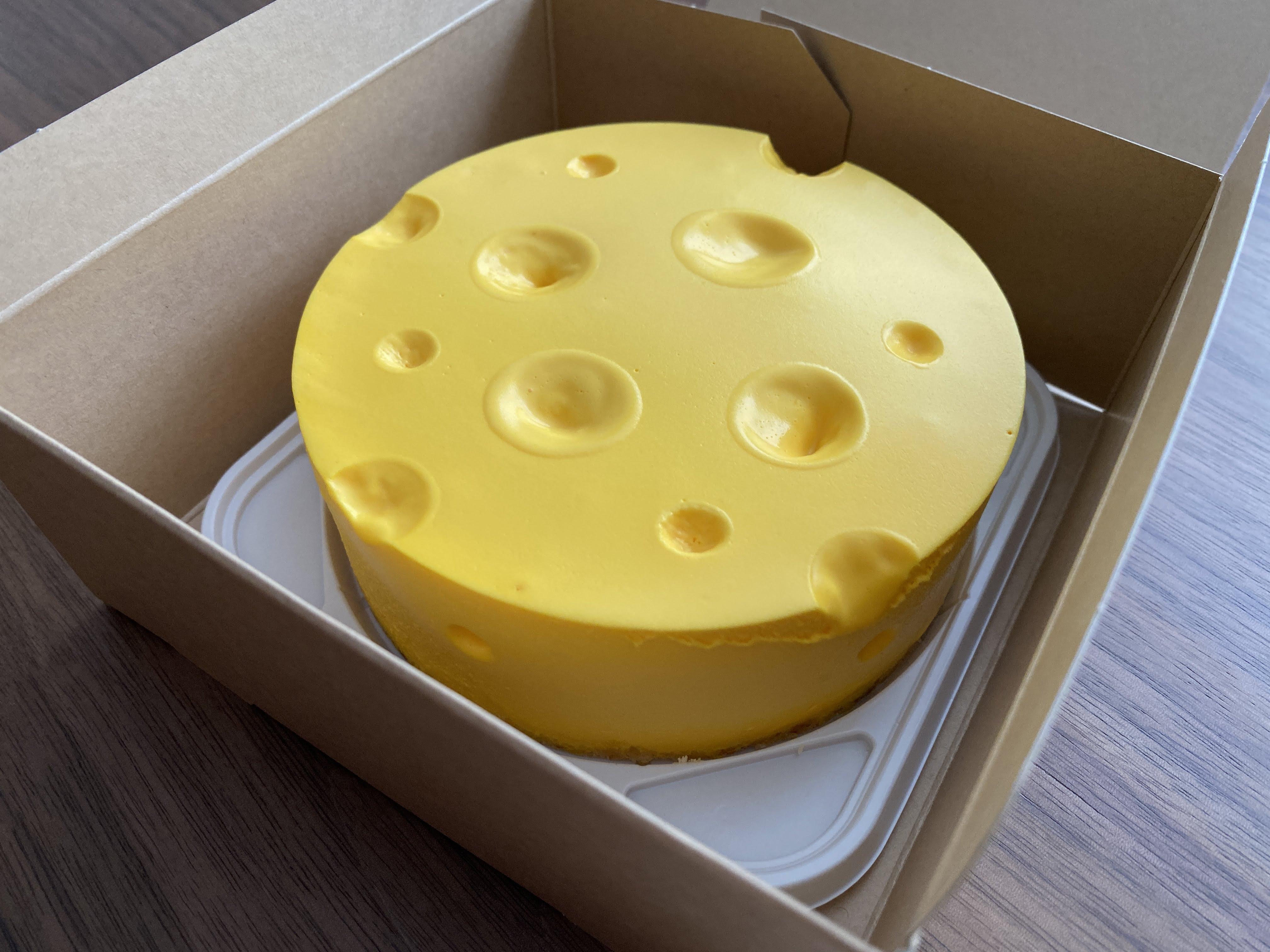FAKEチーズケーキ