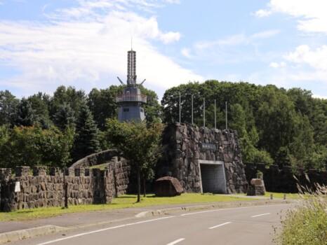 北海道 下川 万里の長城(ミニ万里の長城)