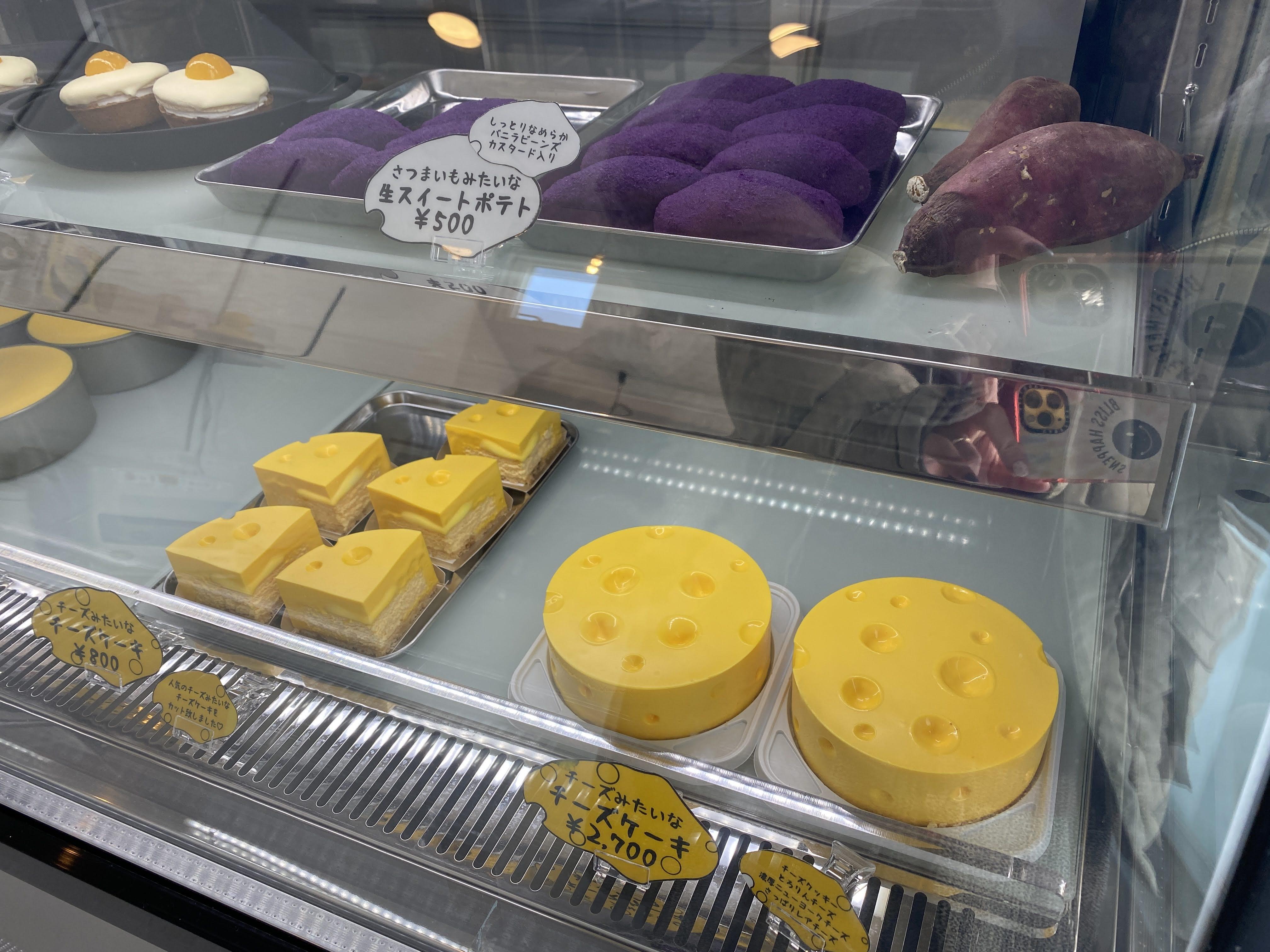 FAKE店頭チーズケーキ