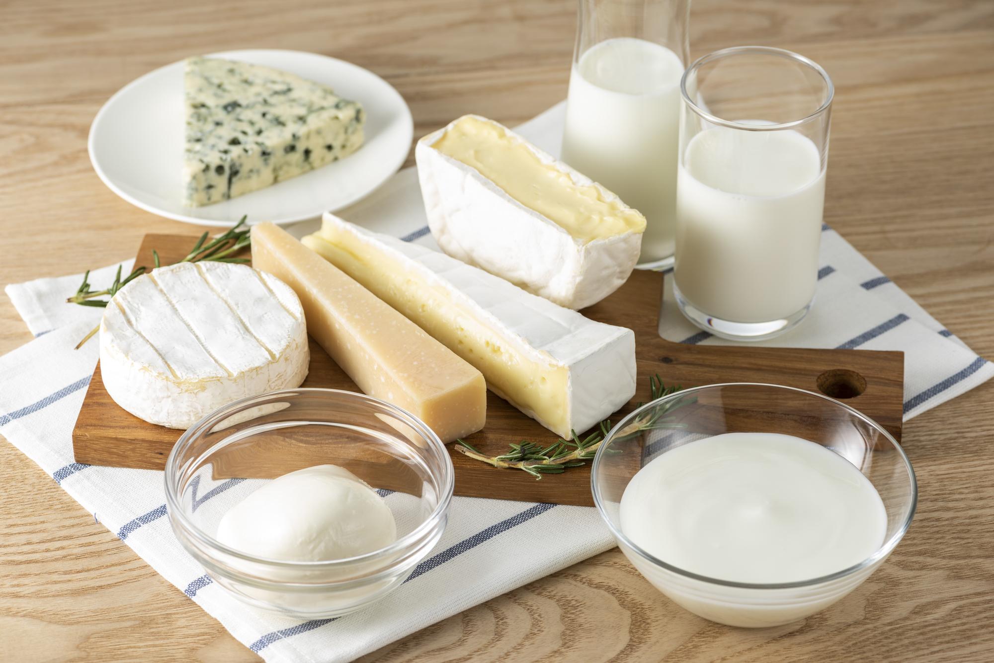 乳製品のイメージ