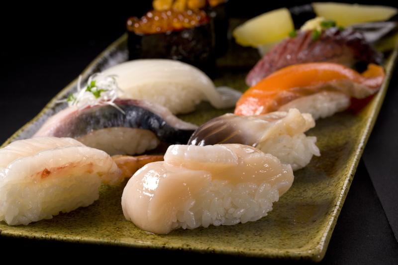 お気に入りのネタは『しめ鯖』と『ほっき貝』