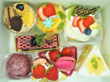 バースデイイブケーキ箱