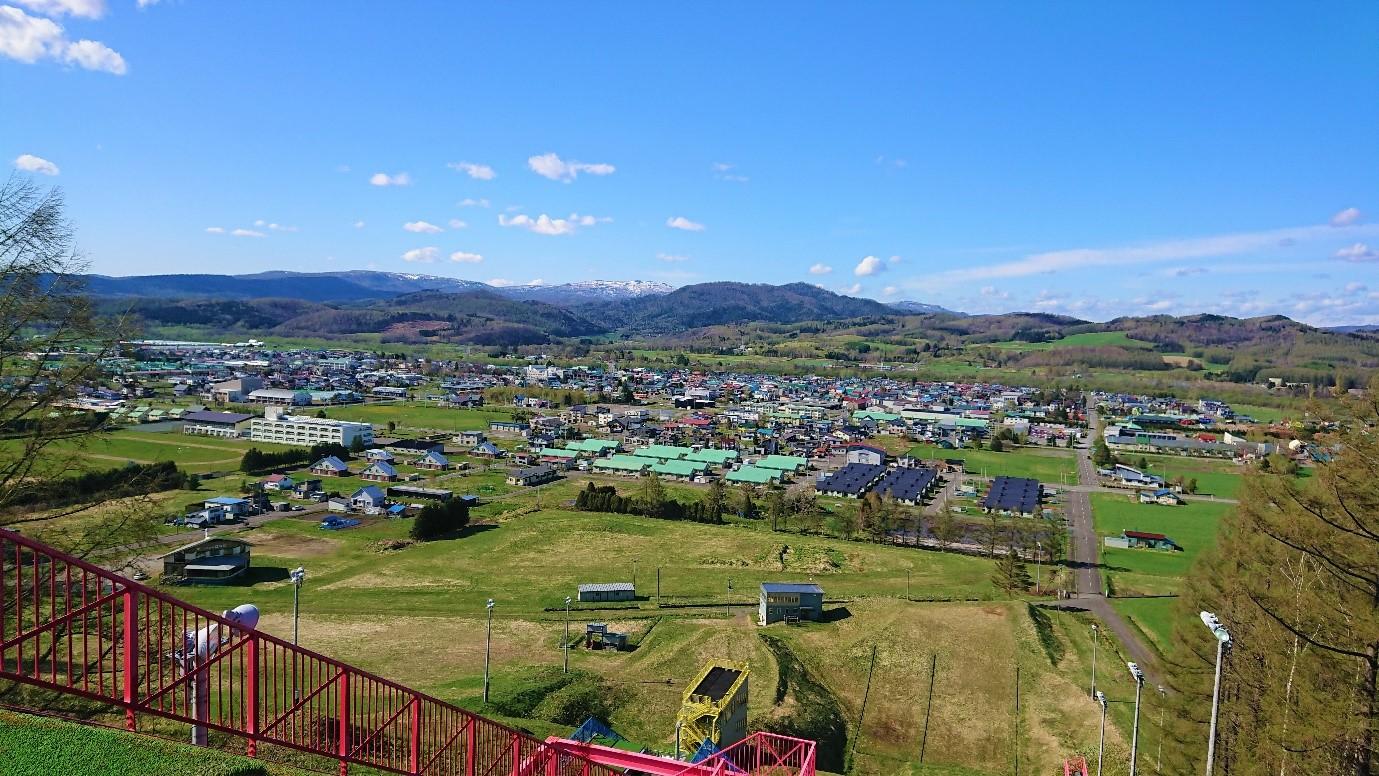 下川町の風景