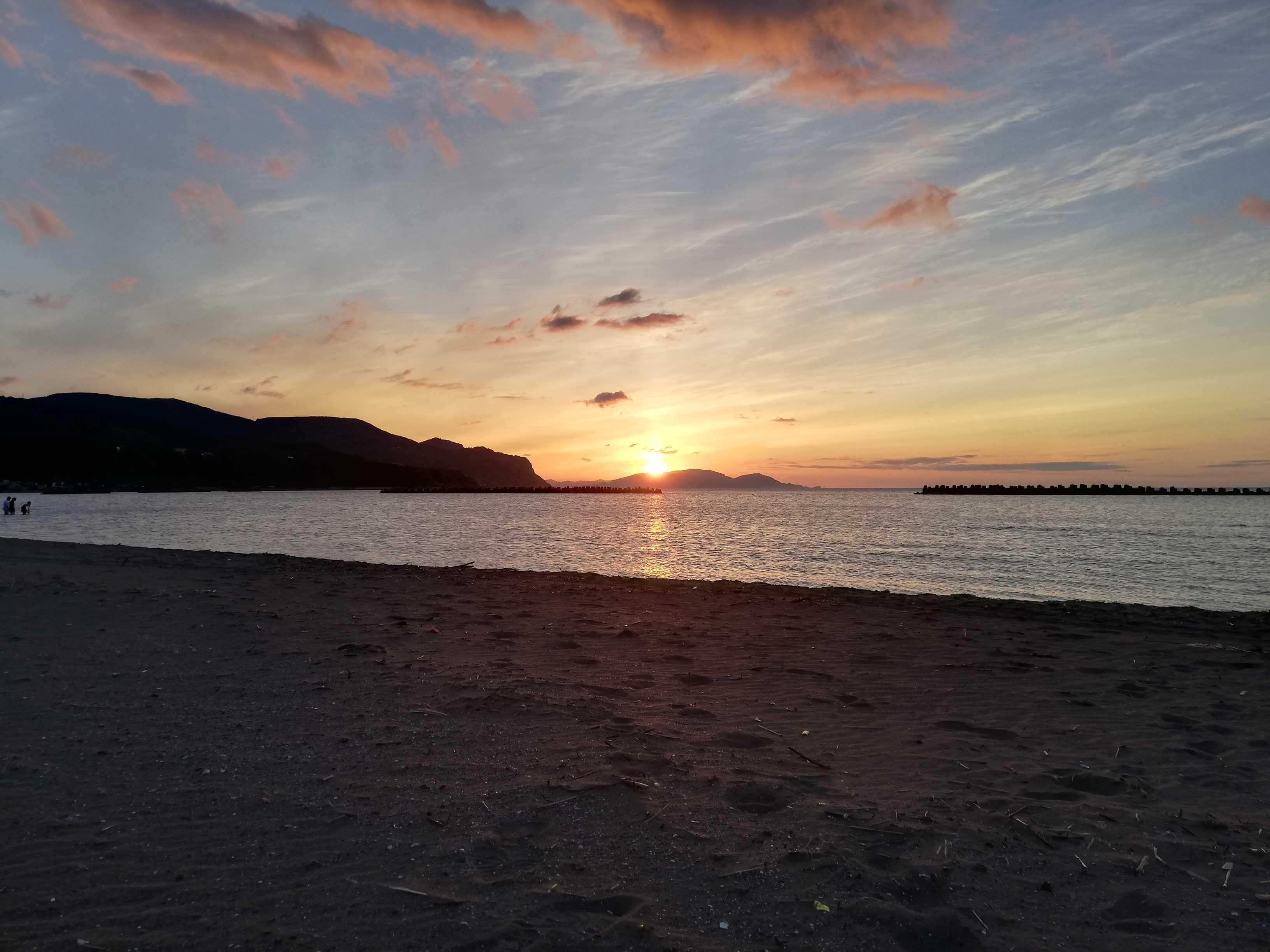 北海道 砂浜