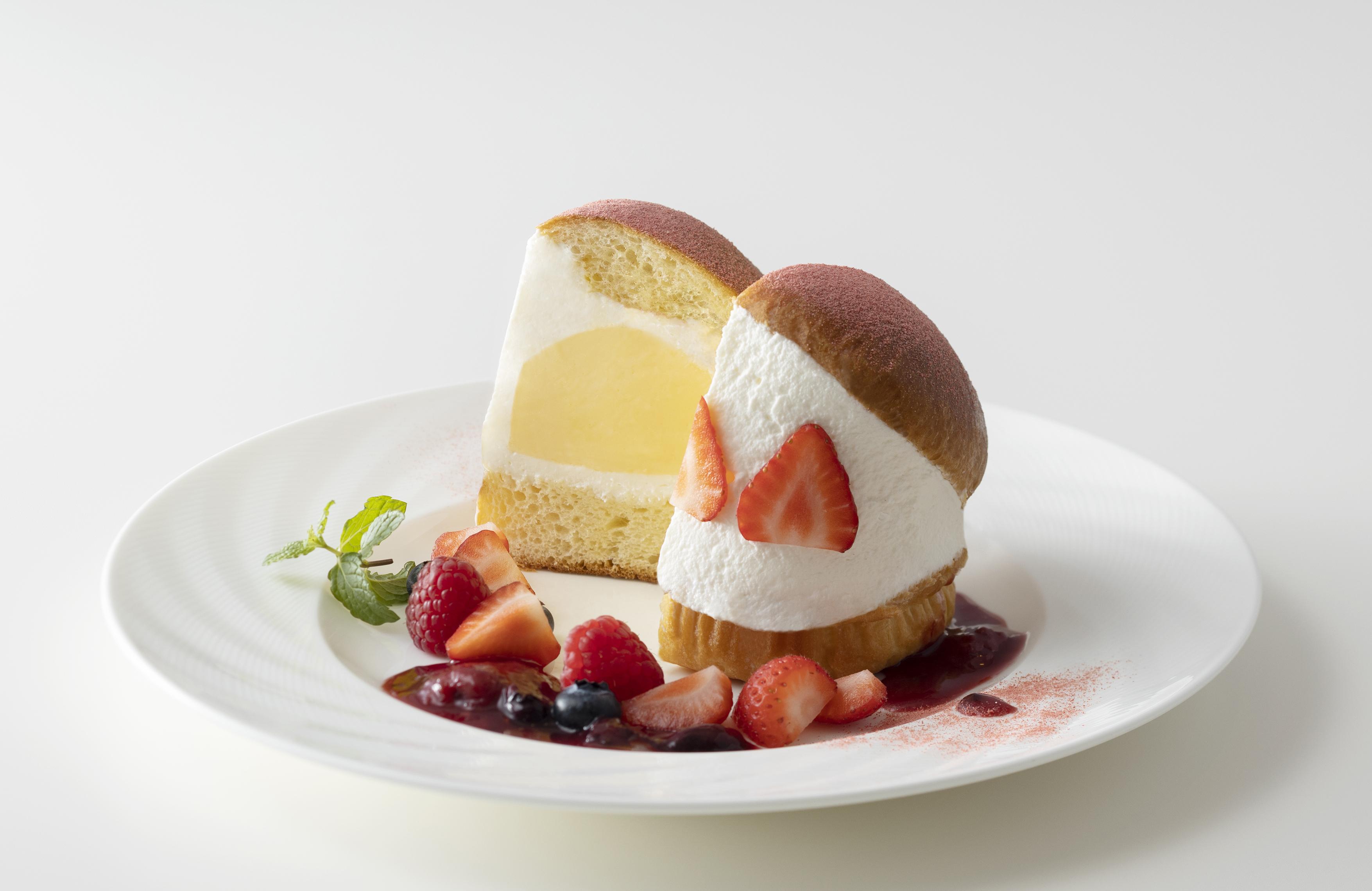 マリトッツォアイスクリーム いちご