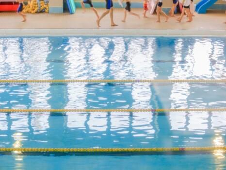 swimming school, pool