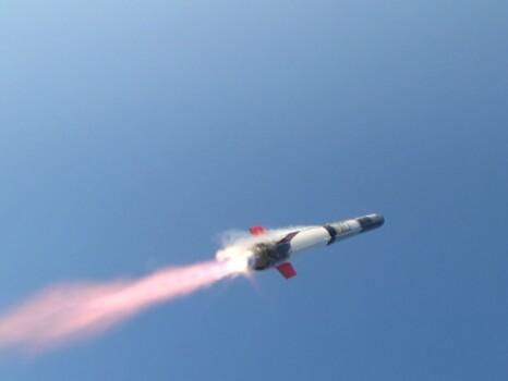 ねじのロケット打ち上げ