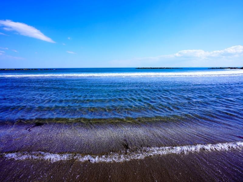 イタンキ浜鳴砂海岸 室蘭市