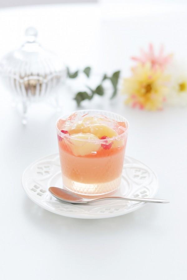 ブールミッシュさっぽろ東急店 桃の涼菓
