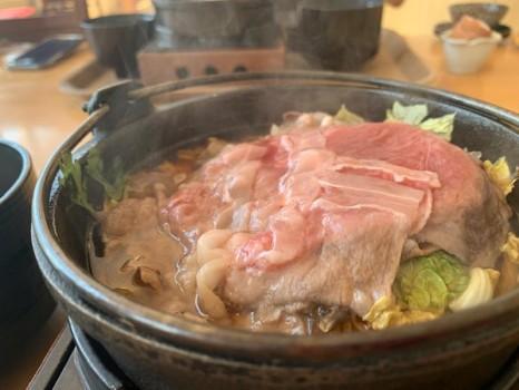 すき焼き定食2