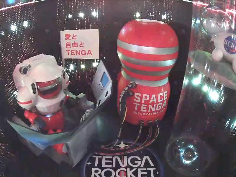 「TENGAロケット」機内の様子
