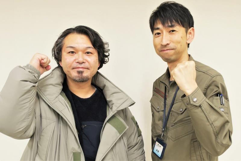 高橋さん(写真左)と三木さん(右)